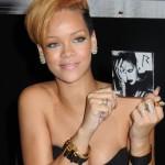 Rihanna Blonde Short Hairstyles