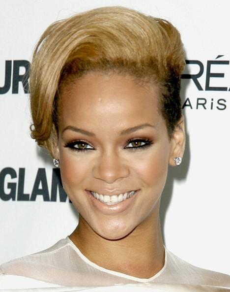 Rihanna Short Haircuts
