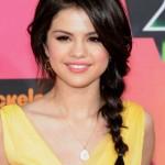 Selena Gomez Braids Long Hairstyles