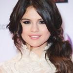 Selena Gomez Long Hairstyles 2012