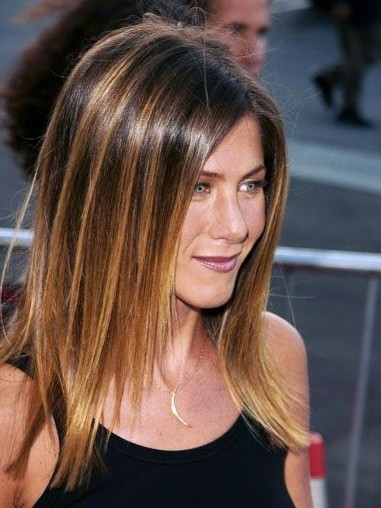 Sleek Medium Straight Hairstyles 2012