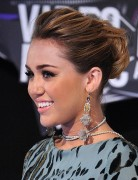 Miley Cyrus Easy Updo Hairstyles 2012