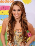 Miley Cyrus Long Wavy Hairstyles 2012