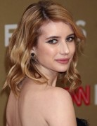 Emma Roberts' Medium Wavy Hairstyles 2012