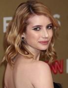 Emma Roberts' Medium Wavy Hairstyles 2012