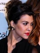 Kourtney Kardashian Updo Hairstyles