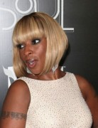 Mary J. Blige Short Bob Haircuts - PoPular Haircuts