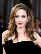 Angelina Jolie Long Hairstyle 2013