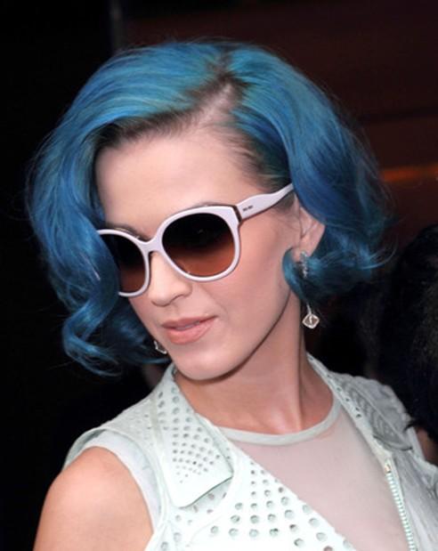Katy Perry Curly Bob Haircuts