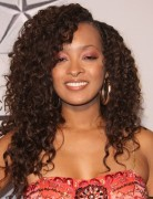 Jennia Fredrique Long Curly Haircut 2013