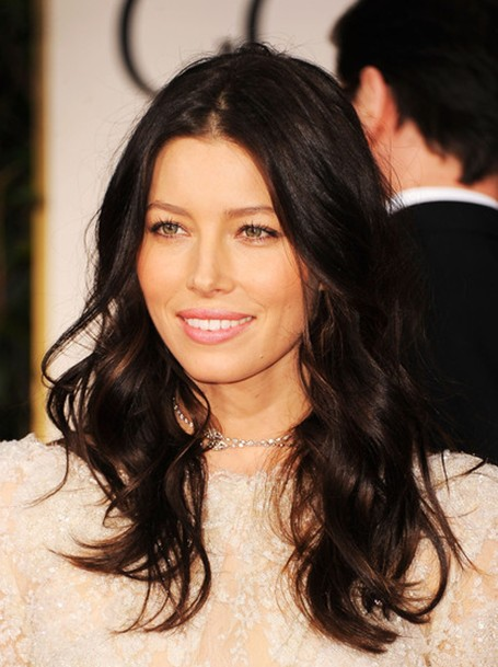 Jessica Biel Long Hair Style 2013 Popular Haircuts