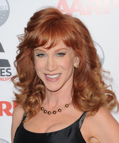 Kathy griffin hair think
