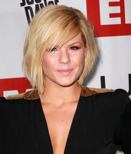 Kimberly Caldwell Short Hairstyles