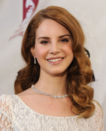 lana del rey hairstyle curls - photo #10