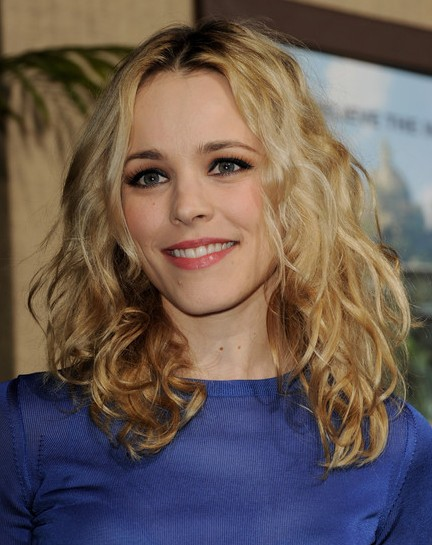 Rachel Mcadams Long Curly Hairstyles 2013 Popular Haircuts