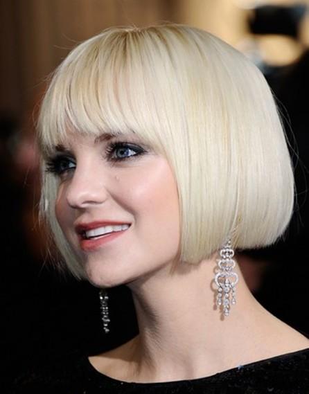 Anna Faris Short Bob Hair Styles
