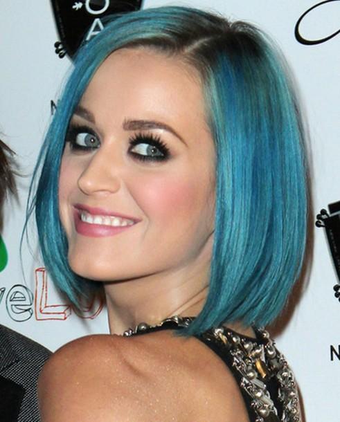 Katy Perry Short Bob Haircuts