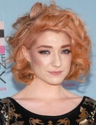 Nicola Roberts Short Curly Hairstyles