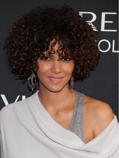 Halle Berry Curly Hairstyle Popular Haircuts