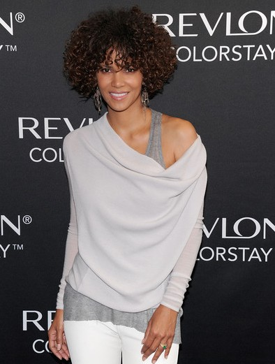 Halle Berry Short Curly Hairstyles Popular Haircuts