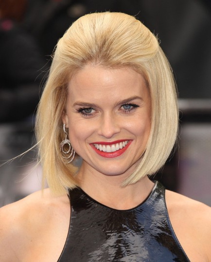 Alice Eve Short Hairstyles 2013