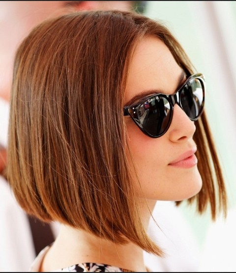 Chin-Length Bob Hairstyles