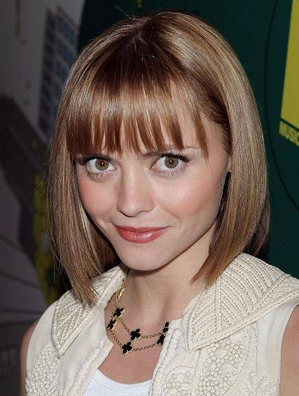 Christina Ricci Bob Haircut - PoPular Haircuts