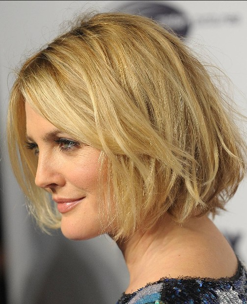 Drew Barrymore Short Hairstyles