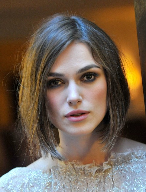 Keira Knightley Short Bob Haircuts Popular Haircuts