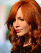Christina Hendricks Wavy Hairstyle