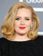 Adele Hairstyles 2013