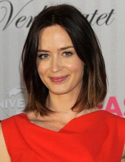 Emily Blunt Hairstyles - PoPular Haircuts