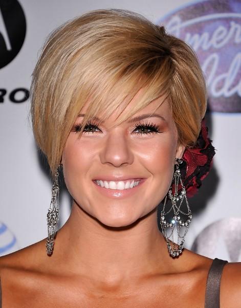 Kimberly Caldwell Hairstyles