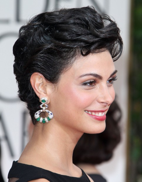 Morena Baccarin Haircuts