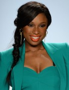 2013 Jennifer Hudson Black Long Ponytail Hairstyles