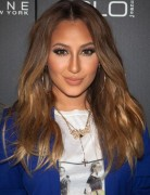 Adrienne Bailon Brown Long Hairstyles 2013