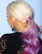 Christina Aguilera Ponytail Hairstyles for Long Hair 2013