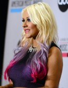 Christina Aguilera Trendy Long Layered Hairstyles 2013