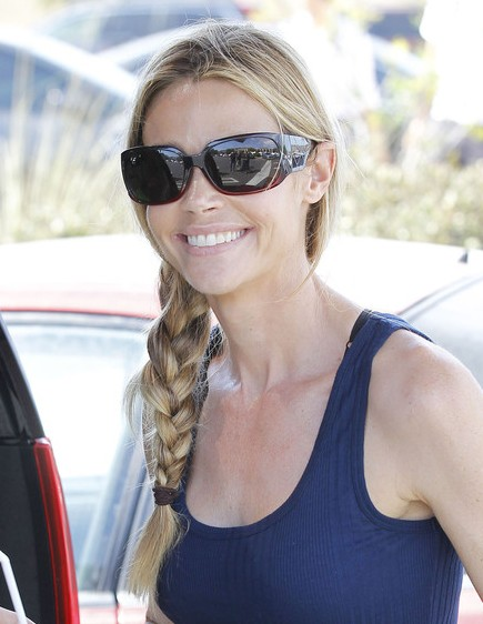 Denise Richards Braided Long Hairstyles