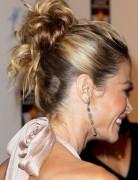 Denise Richards Chignon Hairstyles for Long Hair