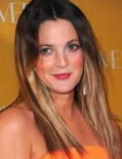 Drew Barrymore Medium Straight Haircuts 2013