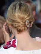Emma Stone Chignon Hairstyle for Medium Hair