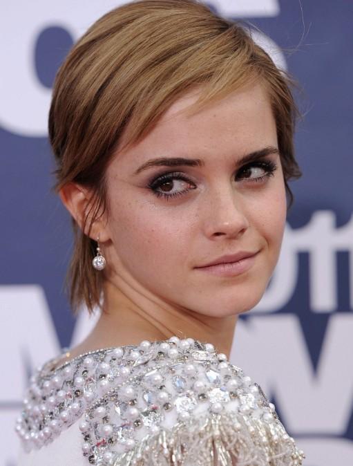 Emma Watson Cute Short Straight Haircuts Popular Haircuts
