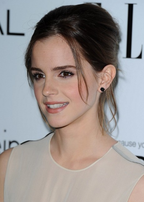 Emma Watson Simple Updos Style - PoPular Haircuts