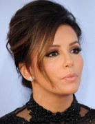 Eva Longoria Updo Hairstyles for Long Hair 2013