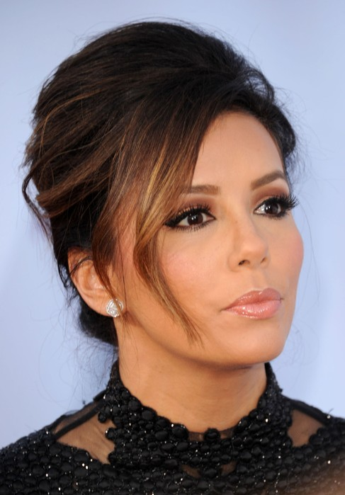 Picture of Eva Longoria Updo Hairstyles for Long Hair