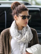 Eva Mendes Casual Chignon Hairstyle for Long Hair