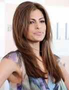 Eva Mendes Easy Long Layered Hairstyle for Straight Hair 2013