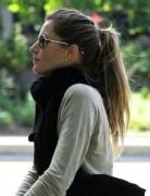 Gisele Bundchen Classic Ponytail Hairstyle 2013