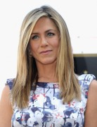 Jennifer Aniston Trendy Medium Straight Haircuts 2013